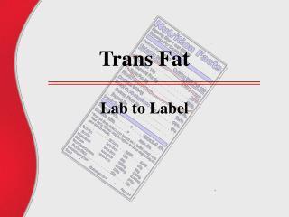 Trans Fat