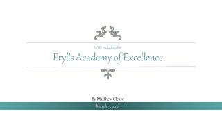 Eryl's  Academy of Excellence
