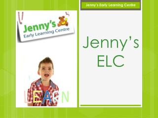 Jennys ELC - New Bendigo Hospital
