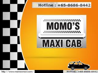 Comfort Maxi Cab Booking Online Singapore