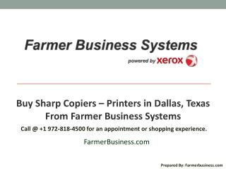 Buy Sharp Copiers � Printers in Dallas, Texas