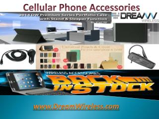 Cellular Phone Accessories - DreamWireless.com