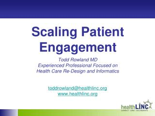Scaling Patient Engagement