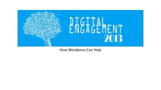 How  Wordpress  Can Help