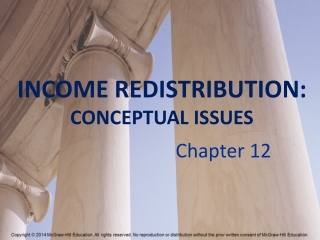 Income Redistribution:Conceptual Issues