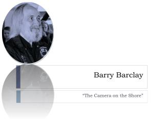 Barry Barclay