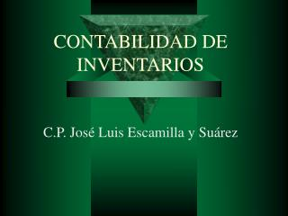 CONTABILIDAD DE INVENTARIOS