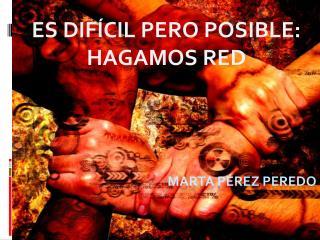 MARTA PÉREZ PEREDO