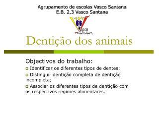 Dentição dos animais
