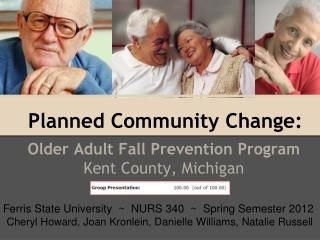 Planned Community Change: