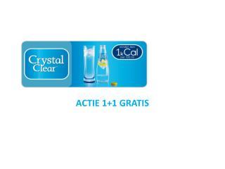ACTIE 1+1 GRATIS