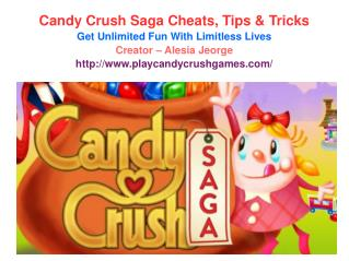 Play Candy Crush Cheats, Tips & Tricks