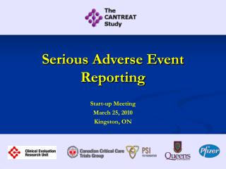 Serious Adverse Event Reporting