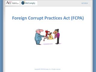 Foreign Corrupt Practices Act (FCPA)