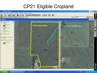CP21 Eligible Cropland