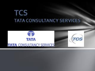 TCS TATA CONSULTANCY SERVICES