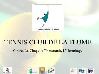 TENNIS CLUB DE LA FLUME Cintré, La Chapelle Thouarault, L'Hermitage