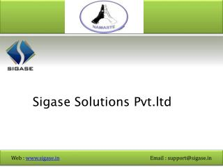 Sigase Solutions Pvt.ltd