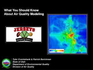 What You Should Know  About Air Quality Modeling