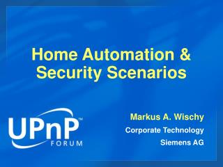 Home Automation  Security Scenarios