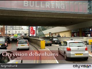 City vision  debenhams