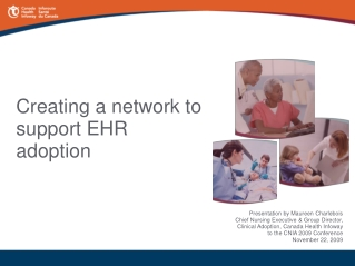 Canada Health Infoway and the pan-Canadian EHR