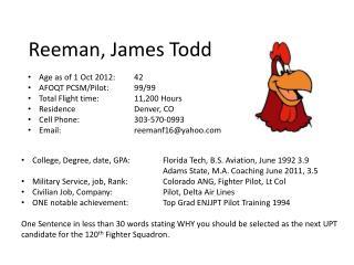 Reeman, James Todd