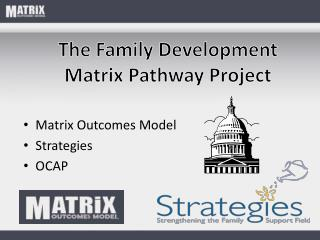 Matrix Outcomes Model  Strategies  OCAP