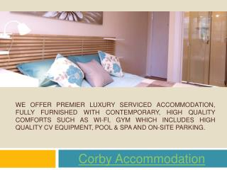 Serviced Accommodation Corby