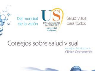 Consejos sobre salud visual