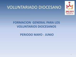 VOLUNTARIADO DIOCESANO