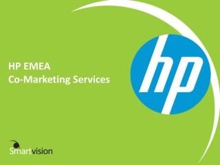 HP EMEA Co-Marketing  Services