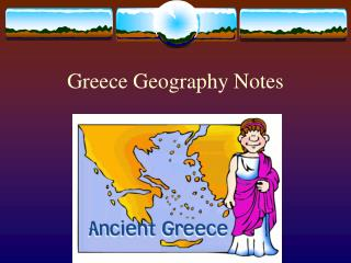 Greece Geography Notes