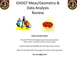 GHSGT  Meas /Geometry &  Data Analysis Review