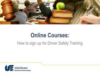 Online Courses: