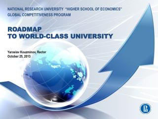 "national  research university  "" higher school of economics"" global  competitiveness  program"