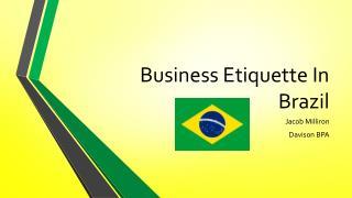 Business Etiquette In Brazil