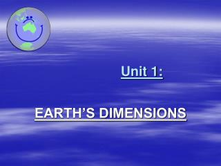 Unit 1: