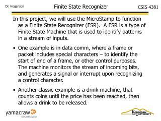 Finite State Recognizer