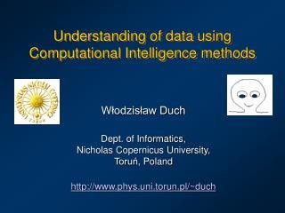 Understanding of data using Computational Intelligence methods