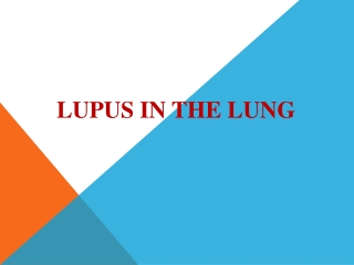 Long Term Effects of Lupus and Lupus Medications