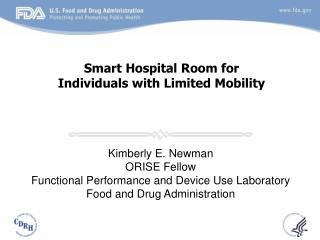 Smart Hospital Room for Individuals with Limited Mobility