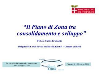 Torino, 18 – 19 marzo 2009