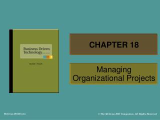 Managing Organizational Projects