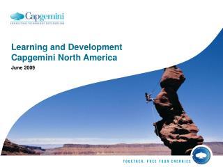 Learning and Development Capgemini North America
