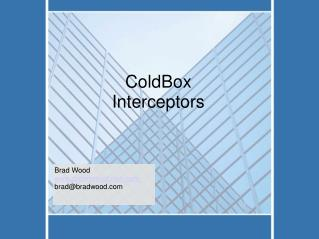 ColdBox Interceptors