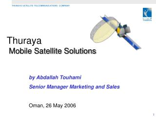 Thuraya Mobile Satellite Solutions