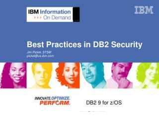 Best Practices in DB2 Security