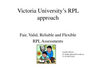 Victoria University's RPL approach