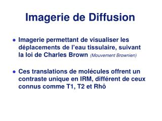Imagerie de Diffusion